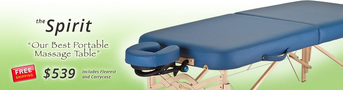 Spirit Massage Table – Our Best Portable Massage Table